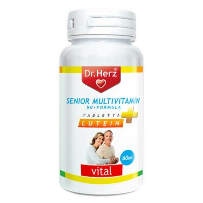 Dr. Herz Senior Multivitamin 50+ 60db tabletta