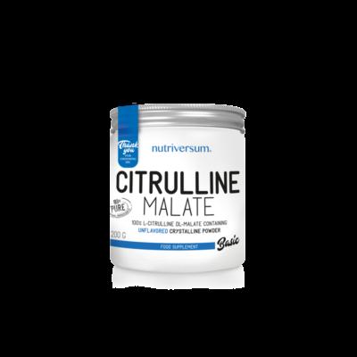 Citrulline Malate - 200 g - BASIC - Nutriversum - ízesítetlen