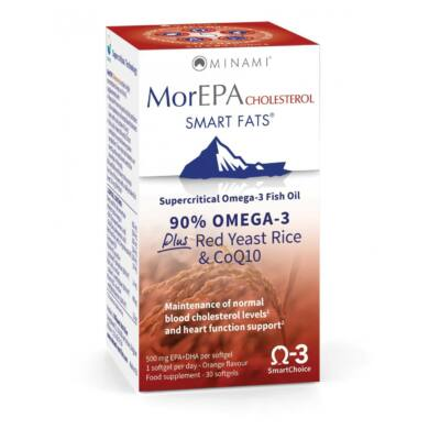 Minami Nutrition MorEPA Cholesterol 30 db