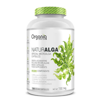 Naturalga 180 db. Organiq nature care Naturalga