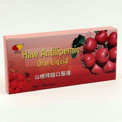 Galagonya-gyümölcs kivonatot tartalmazó étrend kiegészítő ampulla