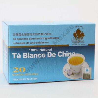 Kínai Fehér tea filteres