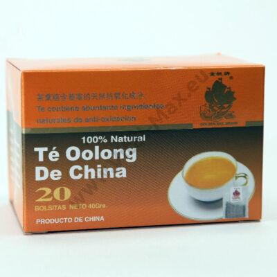 Kínai Oolong tea, filteres