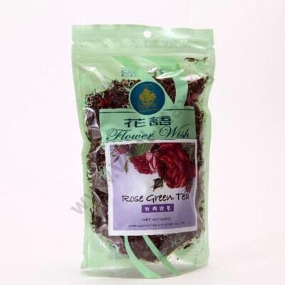 Big Star Szálas zöld tea rózsasziromma