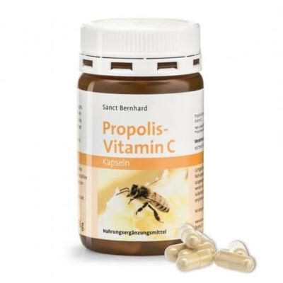 Sanct Bernhard Propolisz + C Vitamin 90db kapszula
