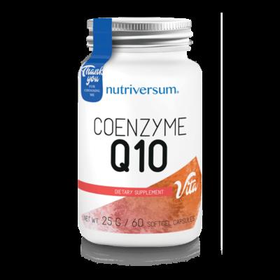 Nutriversum Coenzyme Q10 - 60 kapszula - VITA