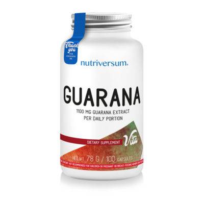 Nutriversum Guarana - 100 kapszula - VITA