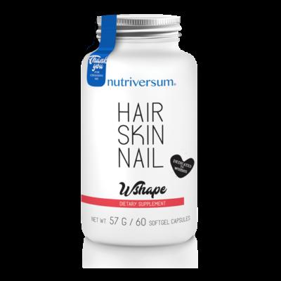 Nutriversum Hair Skin Nail - 60 kapszula - WSHAPE