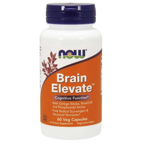 Now Brain Elevate 60 Veg Capsules