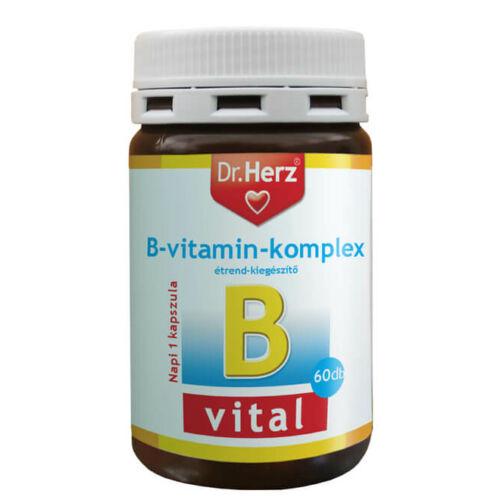 Dr. Herz B-Komplex vitamin 60 db kapszula