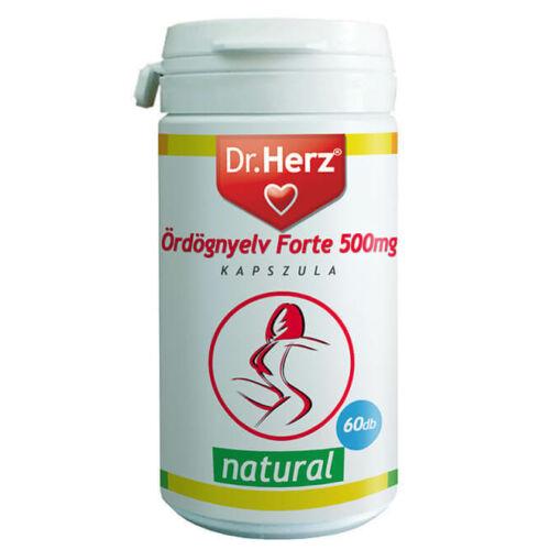 "Dr. Herz Glücomannán ""Ördögnyelv"" Forte 500 mg kapszula 60 db"