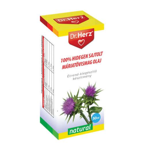 Dr. Herz Máriatövismag olaj 100% hidegen sajtolt 50 ml