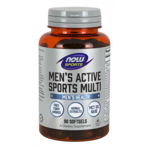 NOW Men's Active Sports Multi 90 Softgels