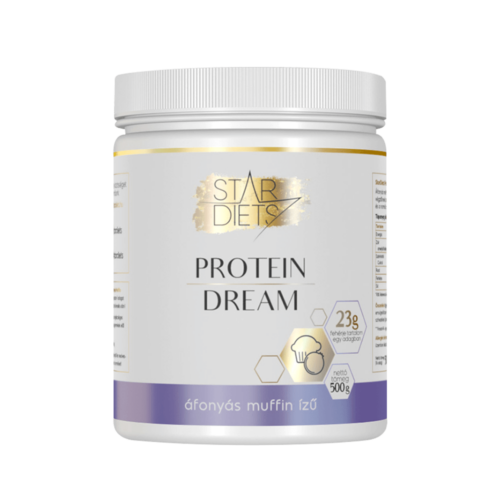 StarDiets Protein Dream fehérje - Áfonyás muffin ízű 500 g
