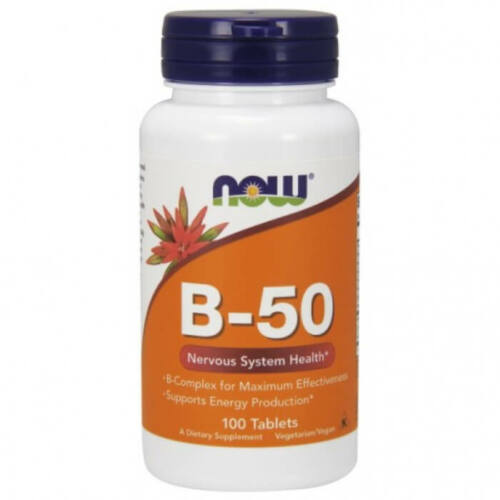 Now B-50 - 100 Tablets