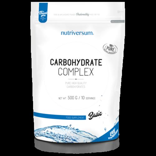 Nutriversum Carbohydrate Complex - 500 g - BASIC - Ízesítetlen