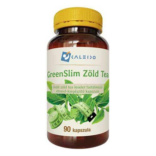 Caleido GreenSlim Zöldtea kapszula – 90db