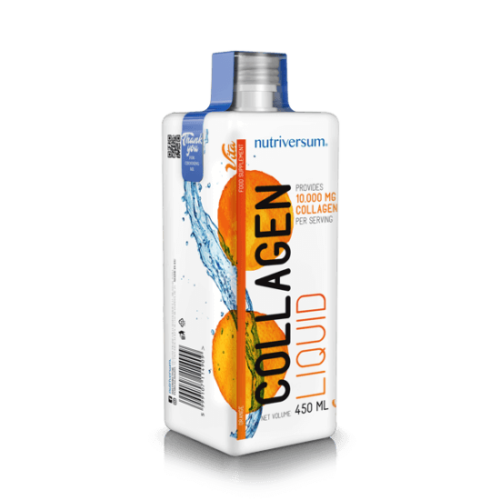Nutriversum Collagen liquid 10.000 mg - 450 ml - VITA - narancs