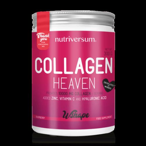 Nutriversum Collagen Heaven - 300 g - WSHAPE - Kollagén-Málna
