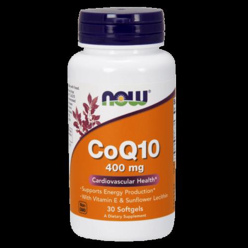 Now CoQ10 400 mg - 30 Softgels