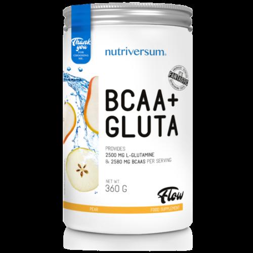 Nutriversum BCAA+GLUTA - FLOW -  körte   360 g