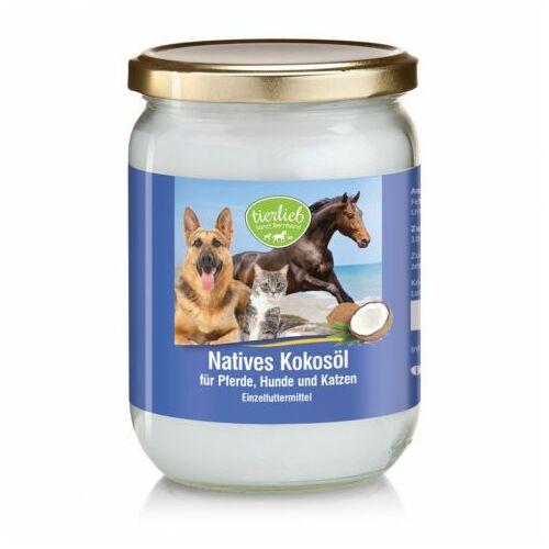 Sanct Bernhard Szűz, hidegen sajtolt kókuszolaj lovaknak, kutyáknak macskáknak-500 ml