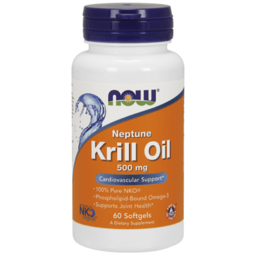 Now Neptune Krill Oil 500 mg - 60 Softgels
