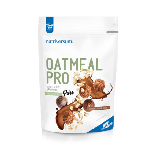Nutriversum Oatmeal PRO - 600 g - PURE - csokoládé-praliné