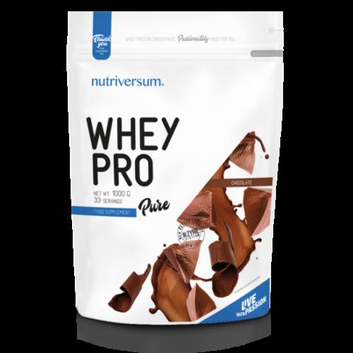 Nutriversum Whey PRO - PURE - csokoládé 1000 g