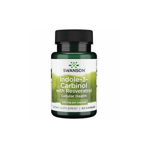Swanson Indole-3-C (+resveratrol) 200 mg / 60 db (+5 mg resveratrol)